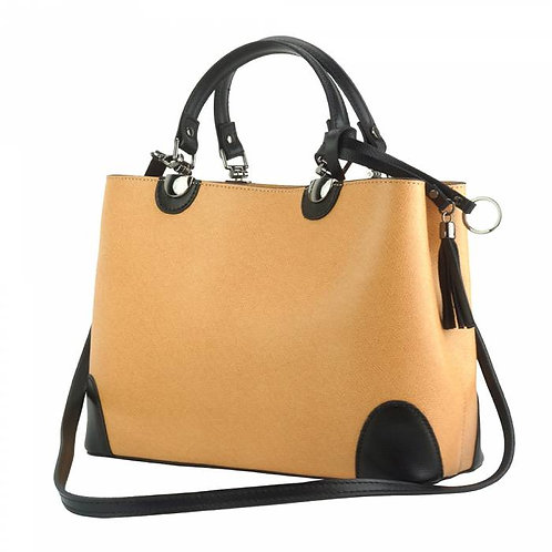 Irma leather Handbag Tan