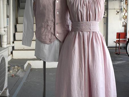 ピンクのドレス&ベスト