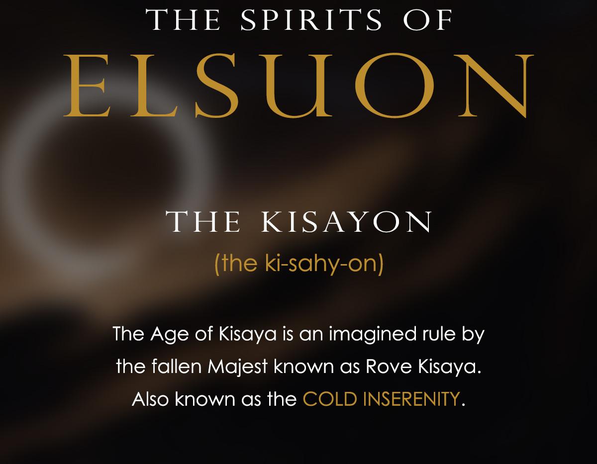 The Spirits of Elsuon - Kisayon