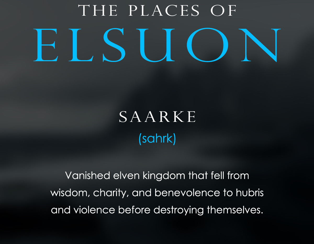 The Places of Elsuon - Saarke