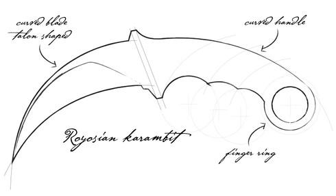 Baloroy's Sketch - Royosian Karambit