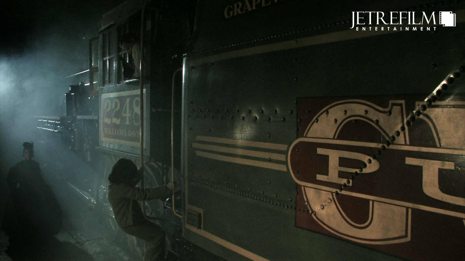 Victoria Takes a Train