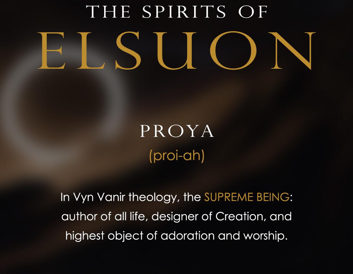 The Spirits of Elsuon - Proya