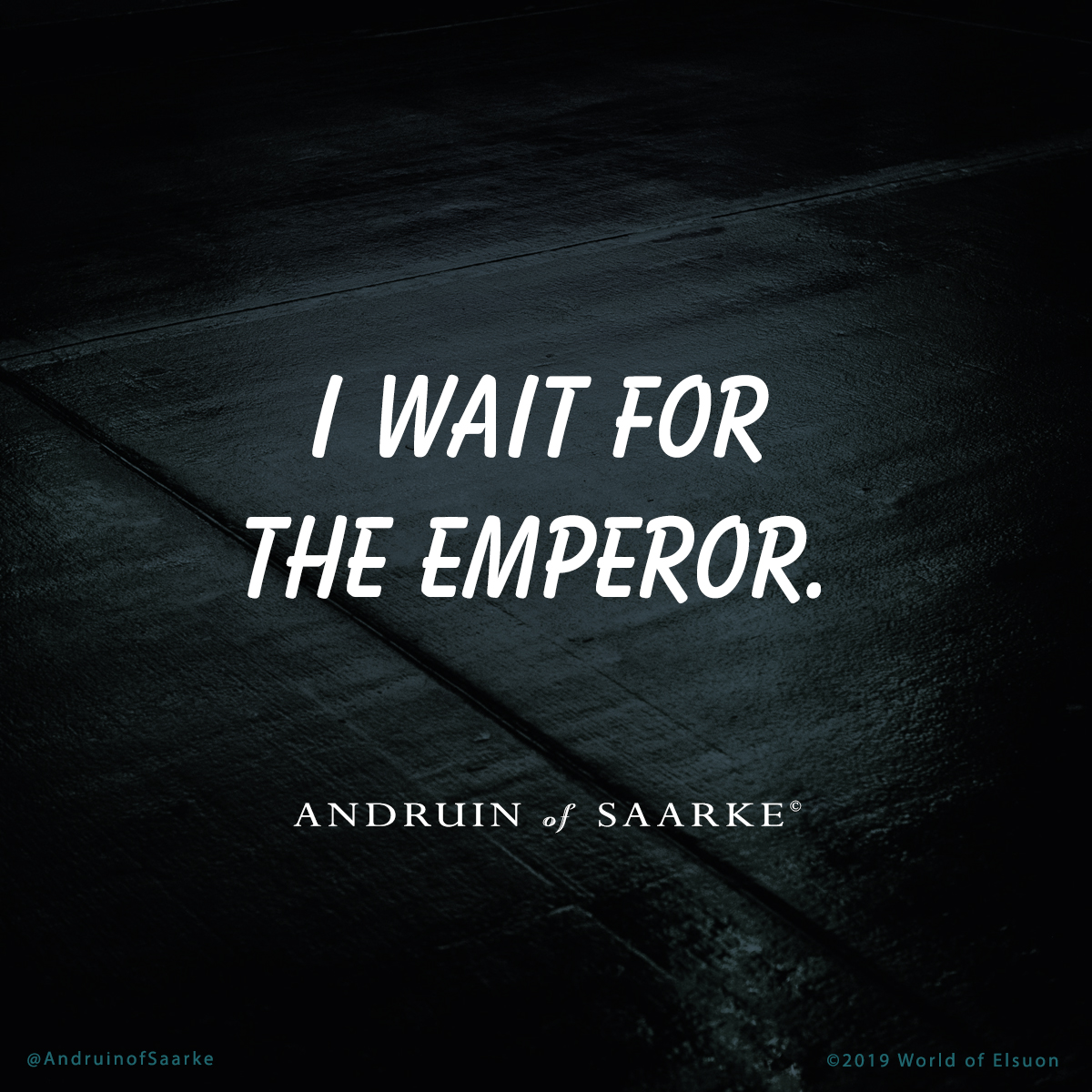 Andruin 03 - I wait for the emperor