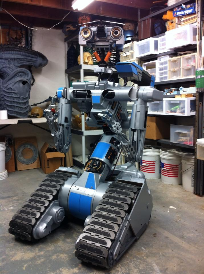 Johnny 5 Replica