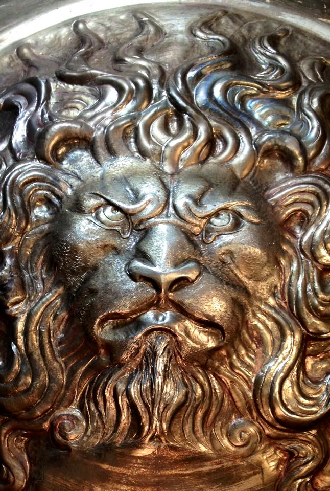 Lion Boss Detail