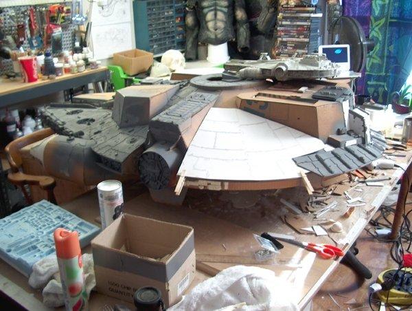 Millennium Falcon Pre-Build