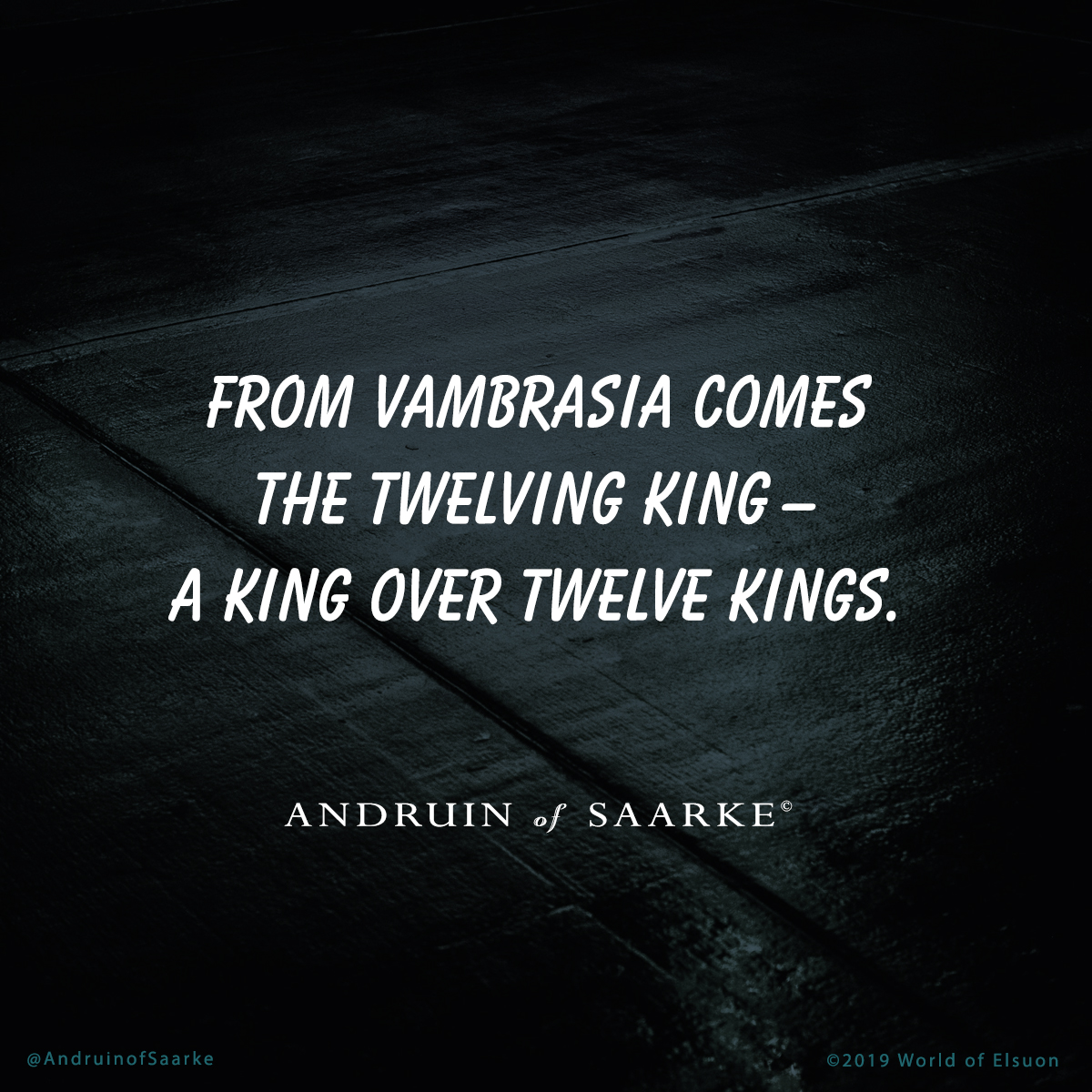 Andruin 13 - The Twelven King