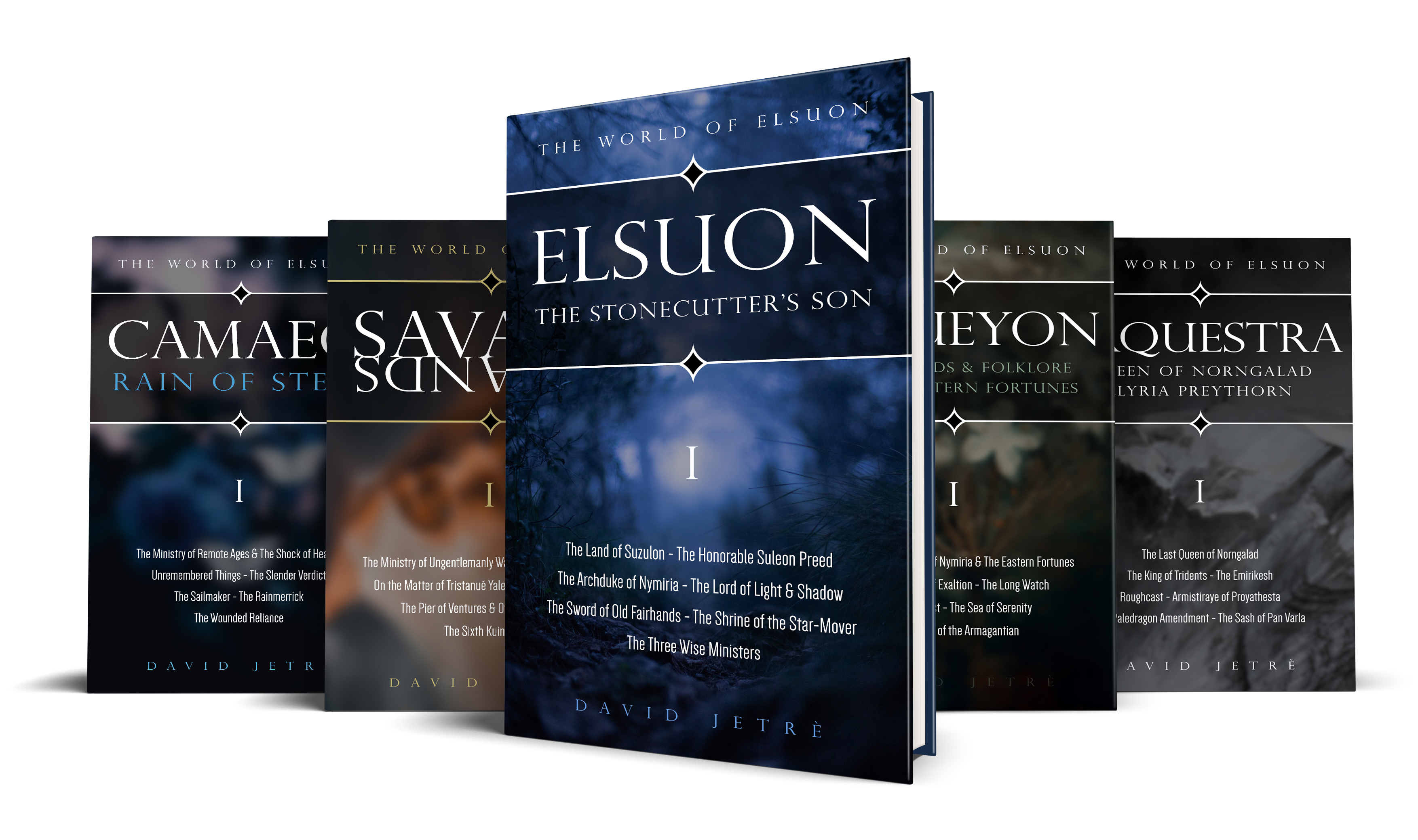 The World of Elsuon - Five Titles