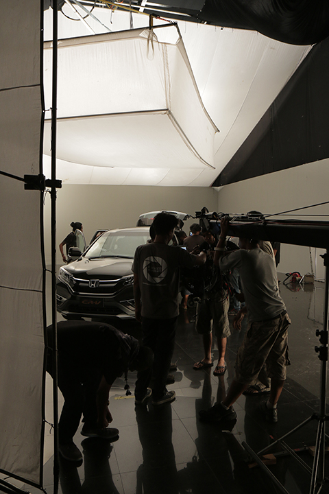 Car Commerical Set Up