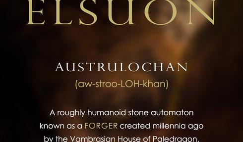 The Names of Elsuon - Austrulochan