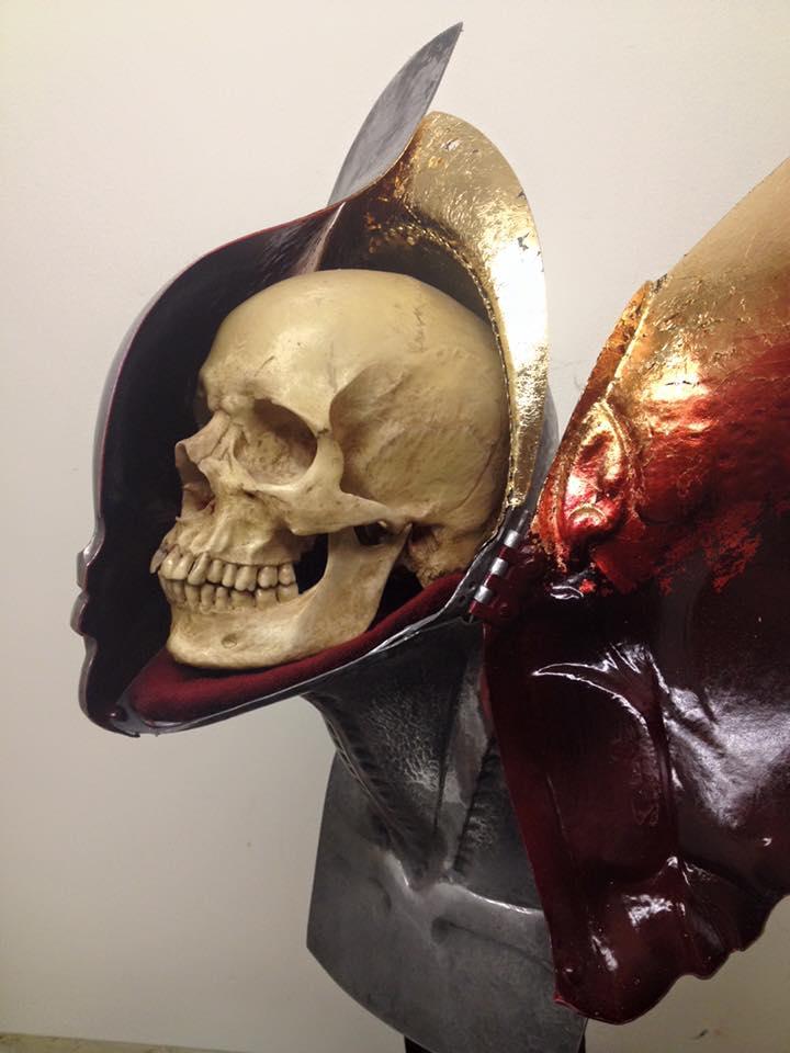 H. R. Giger Sculpt & Skull