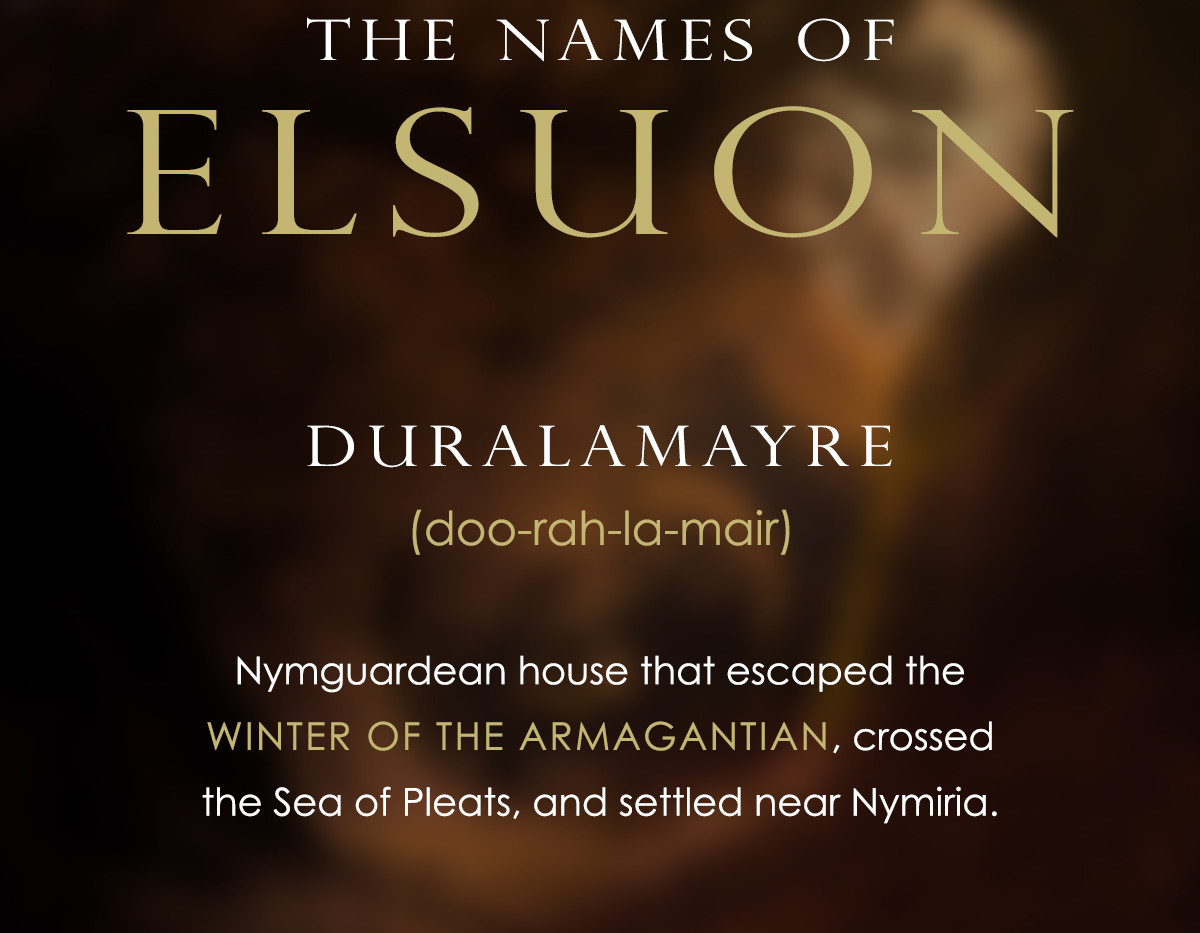 The Names of Elsuon - Duralamayre