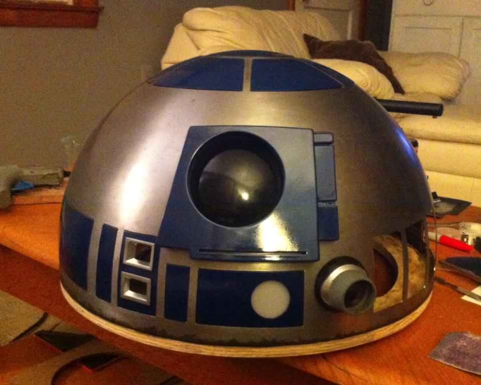 R2-D2 Pre-Build Head Cast