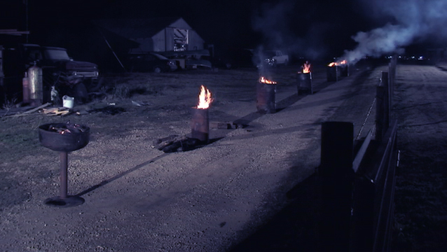 Line of Can Fires