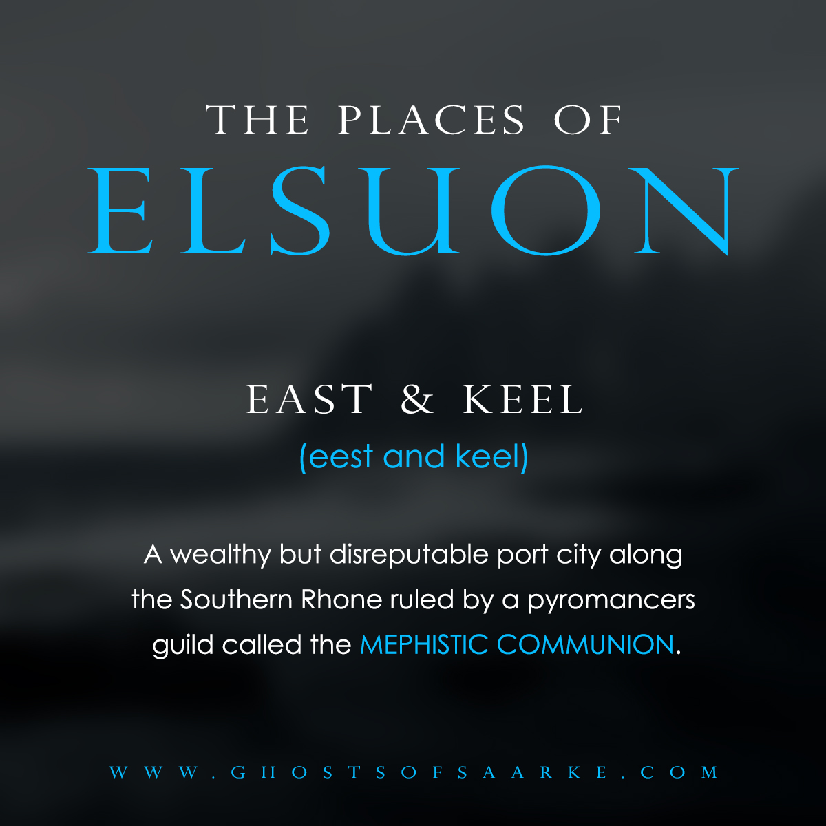 Places - East & Keel