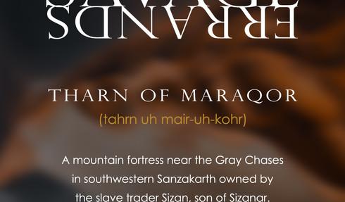 Savage Errands - Tharn of Maraqor