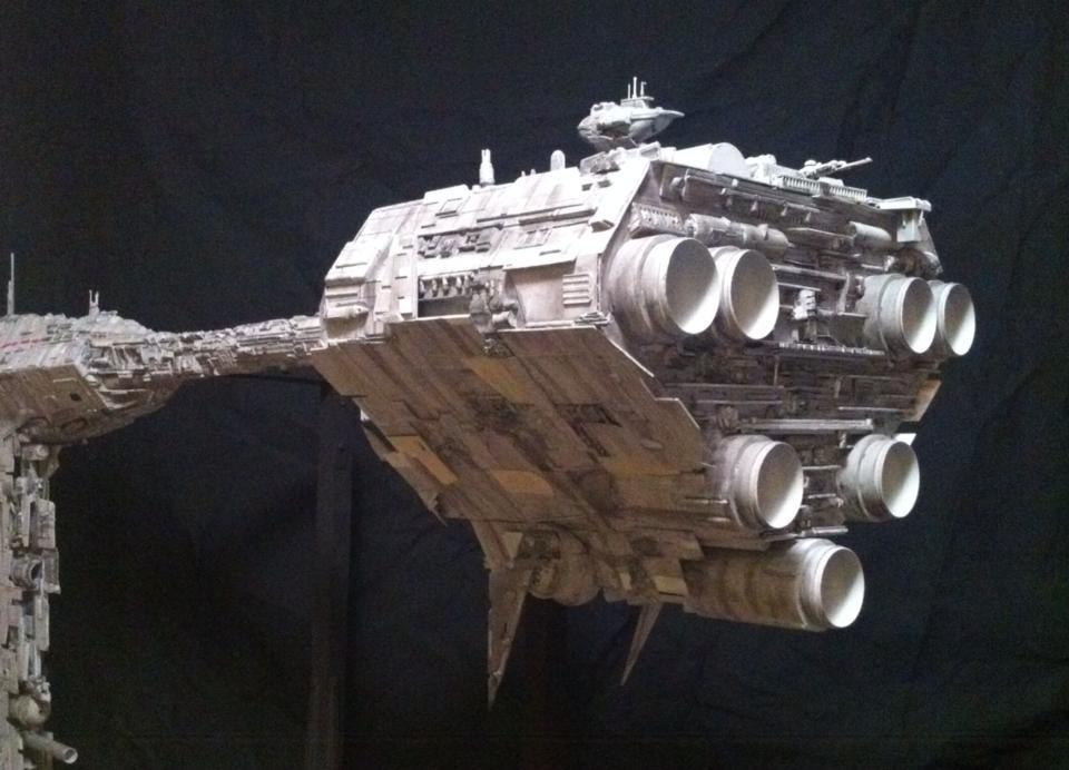 Rebel Star Cruiser - Aft