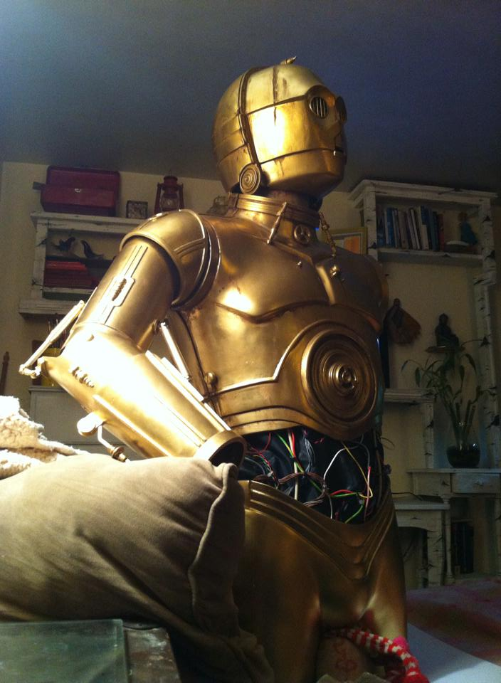 C-3P0 Full Scale Replica