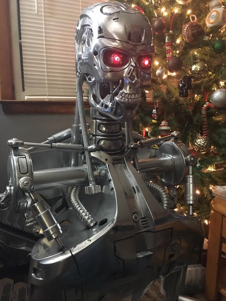 Terminator Bust Build