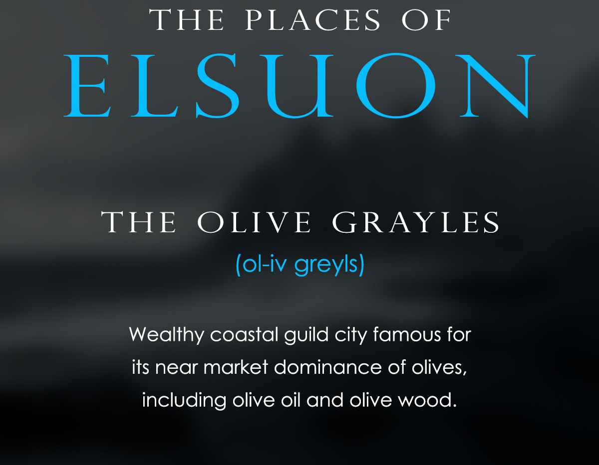 The Places of Elsuon - Olive Grayles