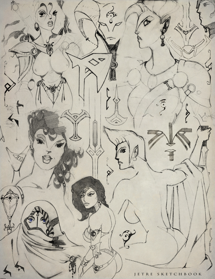 Fantasy Doodles