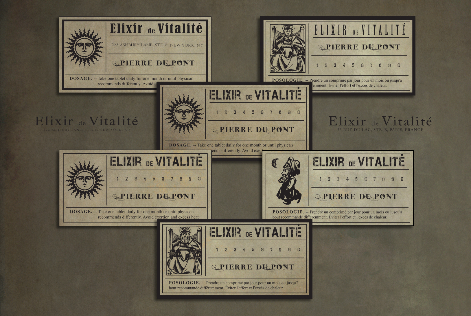 19th Century Labels