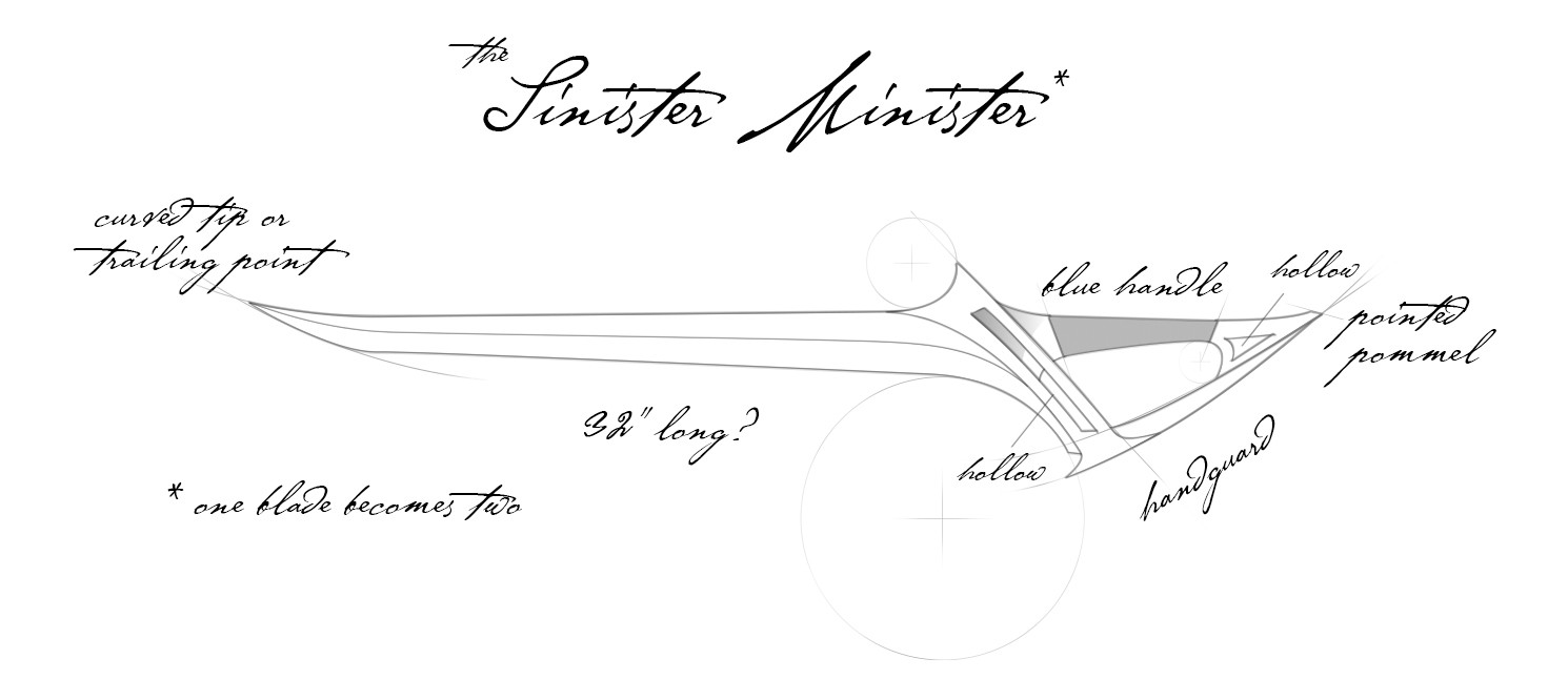 Baloroy's Sketch - The Sinister Minister