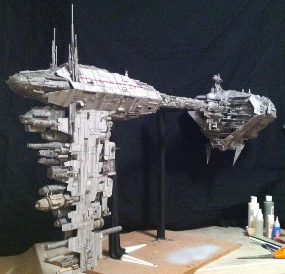 Rebel Starcruiser