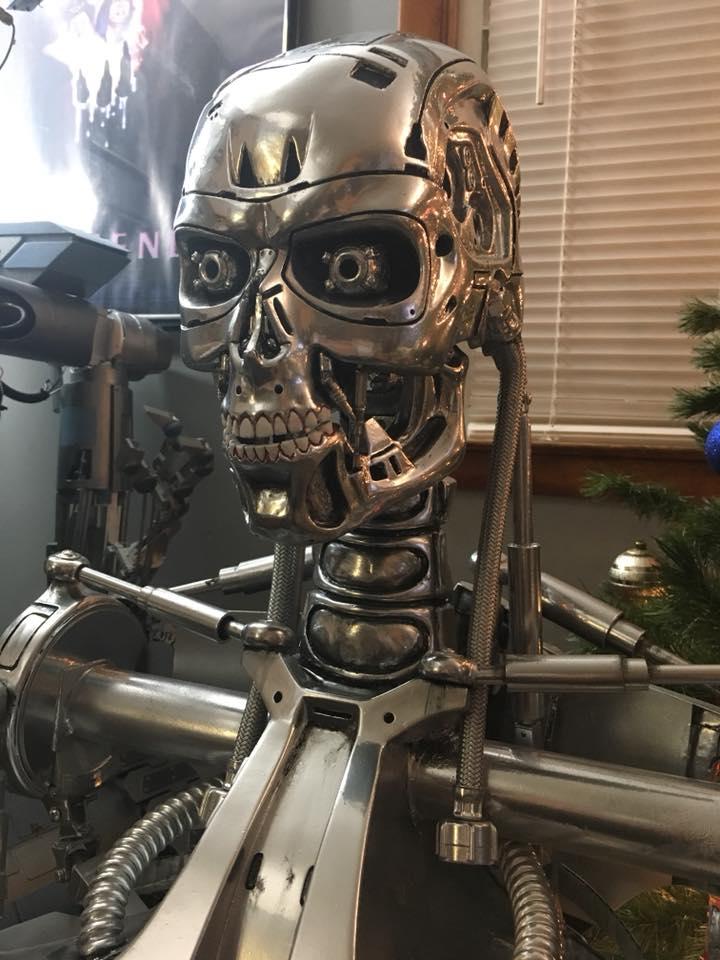 Terminator Bust