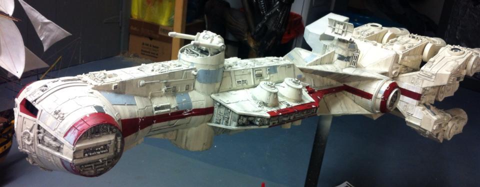 Blockade Runner - Fuselage