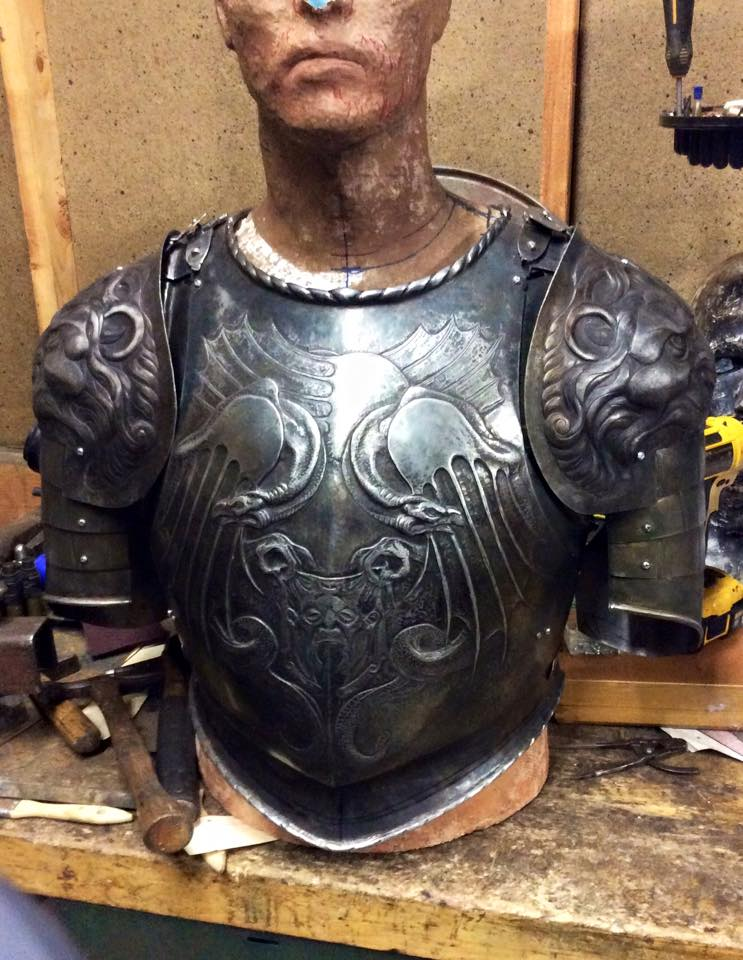 Breastplate and Pauldrons
