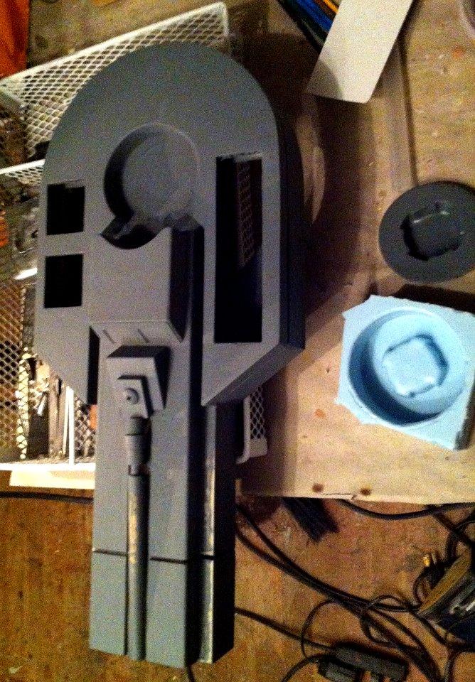 R2-D2 Pre-Build Strut Cast