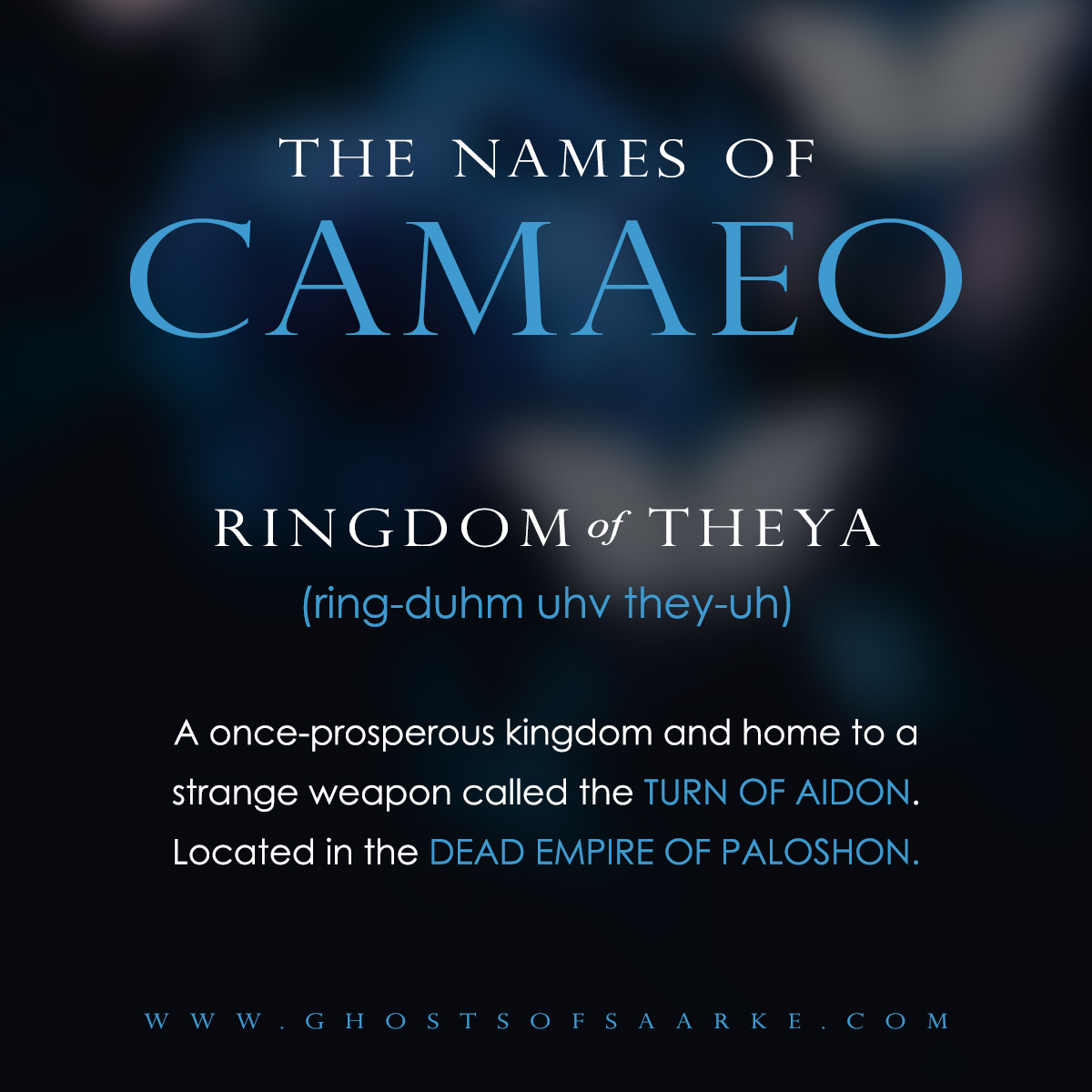 Camaeo - Ringdom of Theya