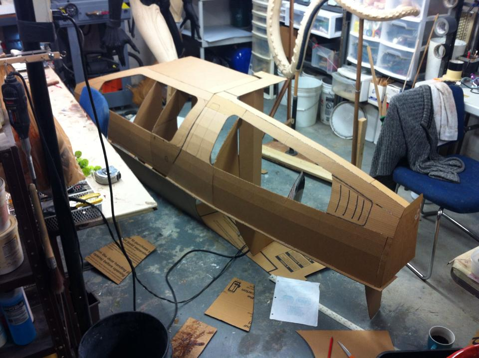 The DeLorean Wood Build
