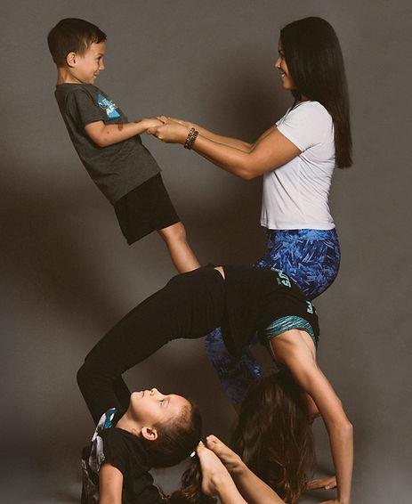 Felecia Nanassy and family - Rise and Shine Kids Yoga - Winnipeg, Manitoba
