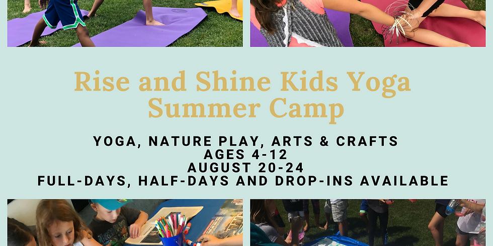 Yoga & Art Summer Camp