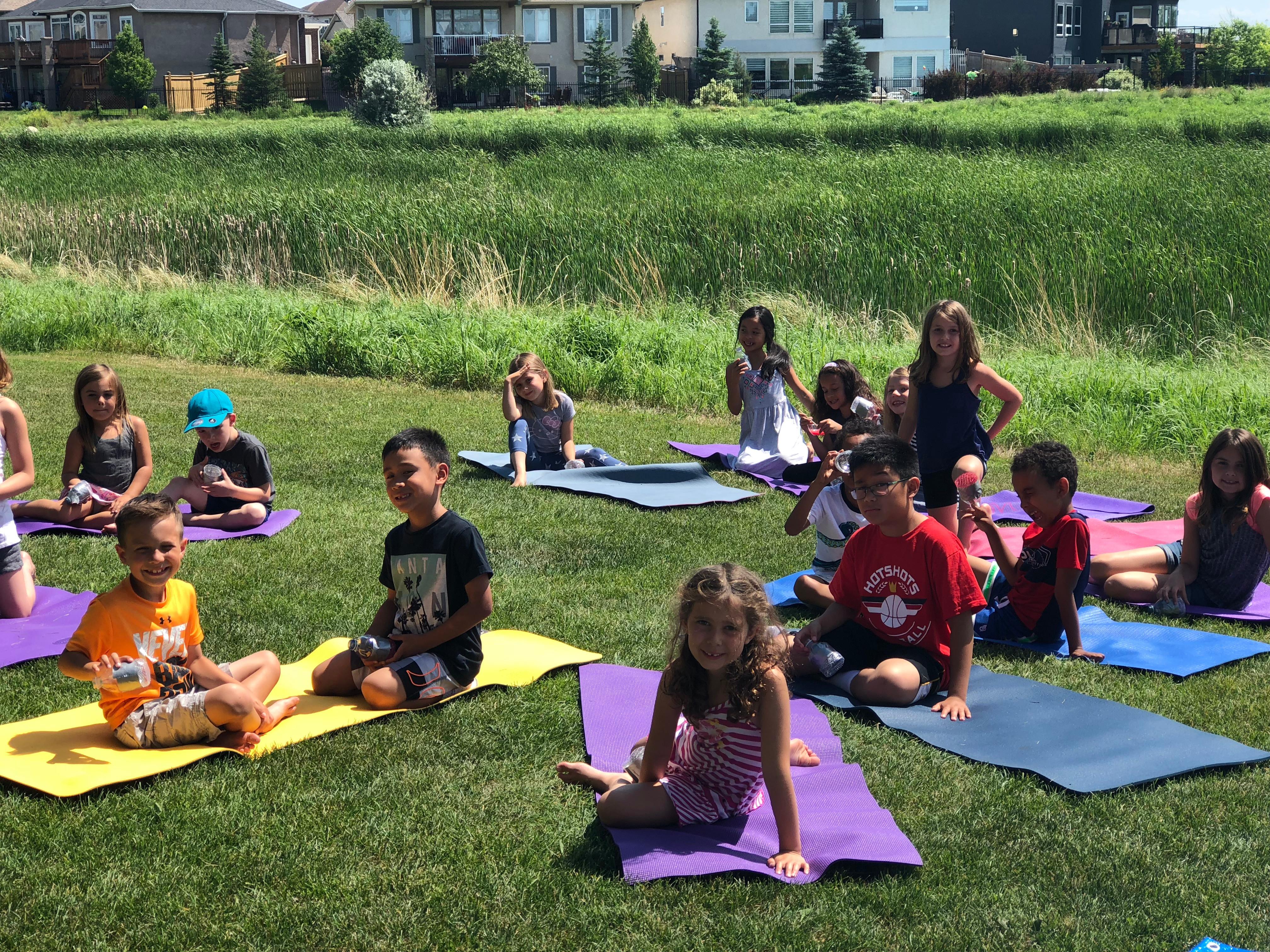 July Yoga  ~ Rising Yogis 5-9 yrs