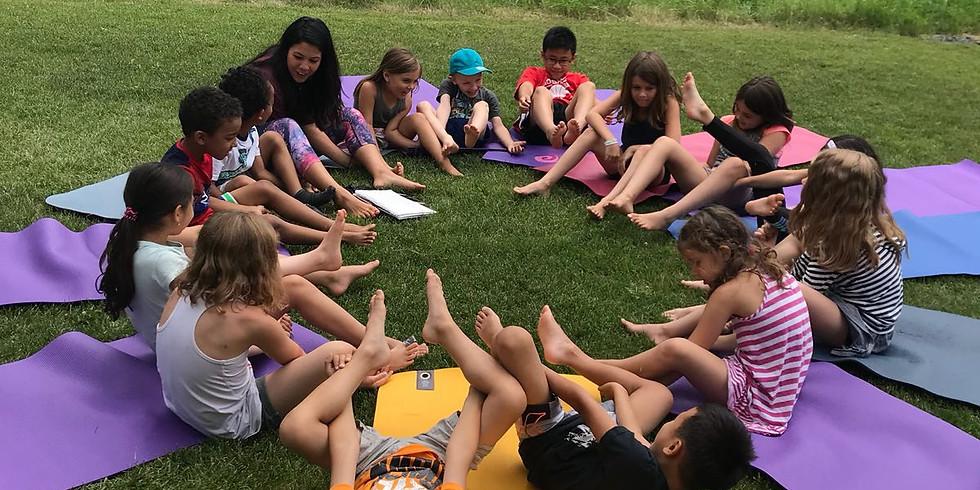 Rise and Shine Kids Yoga JULY Summer Camp 2021
