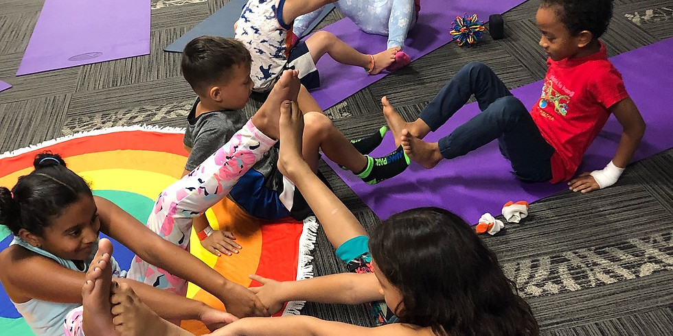 PD Yoga Day Camp March 15, 2019