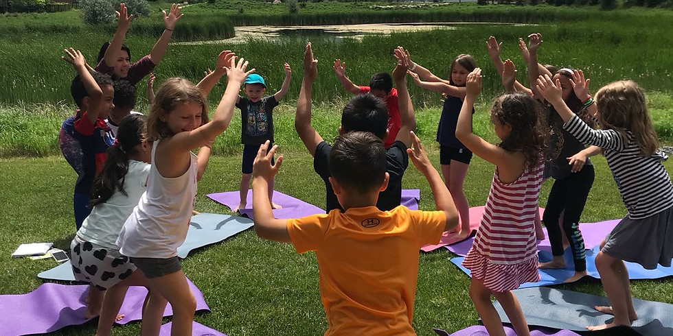 Rise and Shine Kids Yoga July Summer Camp 2020