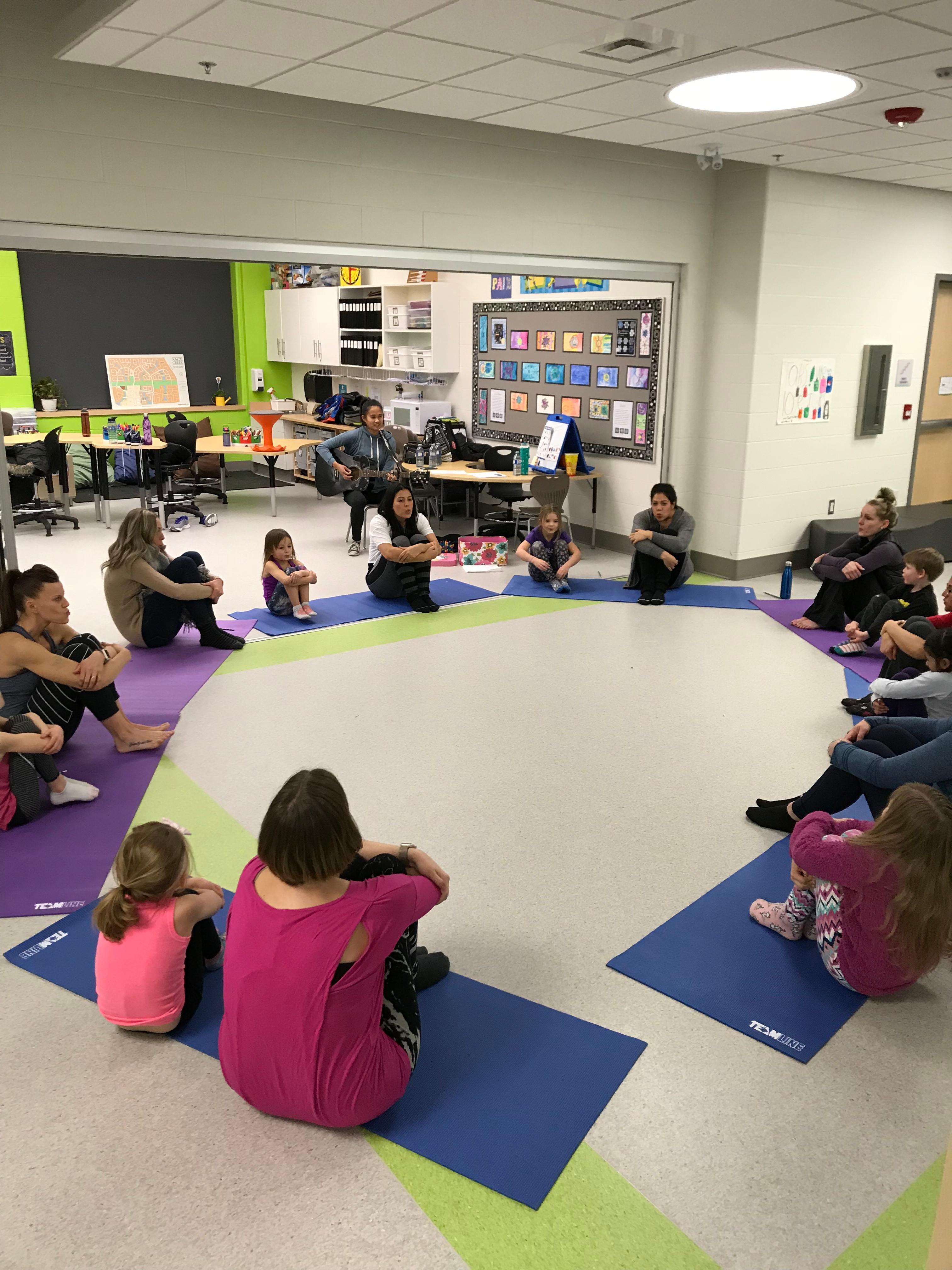 Yoga + Mindfulness Programs for Schools