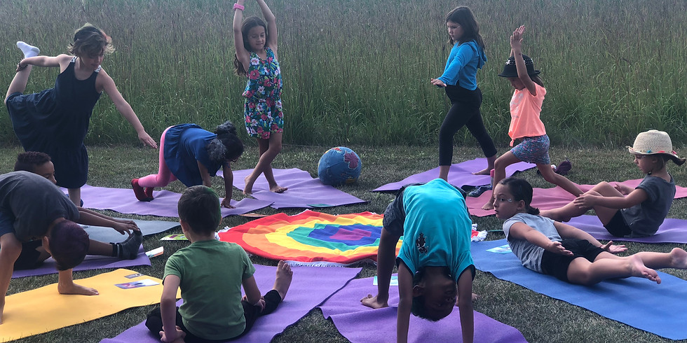 Rise and Shine Kids Yoga August Summer Camp 2020