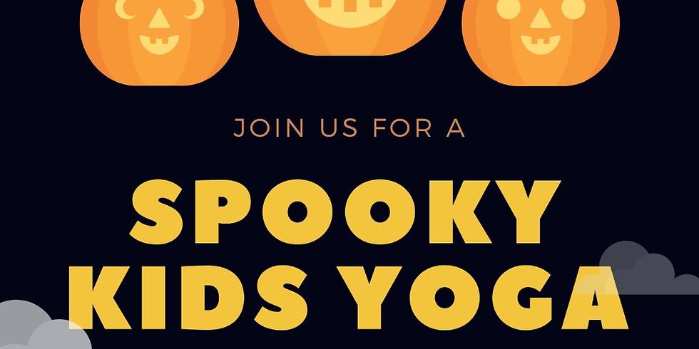Spooky Kids Yoga