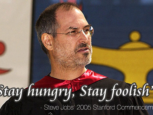 Inspirational Words From Steve Jobs's Commencement Speech