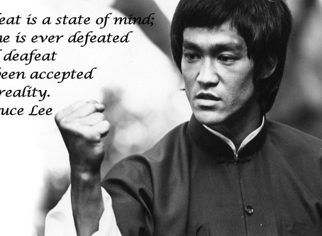Bruce Lee's Dream And Ways Of Thinking