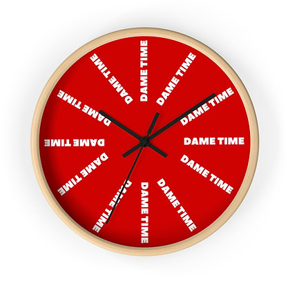 Dame Time Wall clock