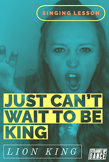 Just Can't Wait to Be King- Singing Less