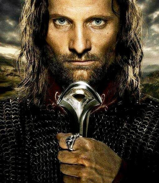 Lord if the Rings King Aragorn