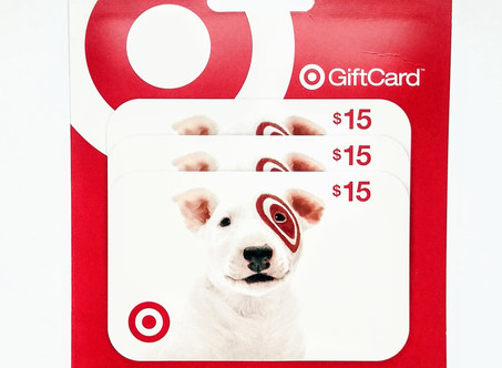 May Giveaway: Enter to Win Target Gift Card